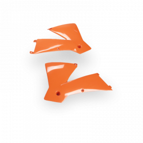 Ouïes de radiateur KTM Orange SX 01-02.  SX/EXC 03-04