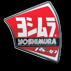 Autocollant pour pot Yoshimura RS4-D