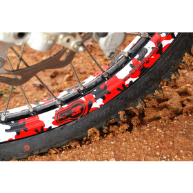 Kit stickers de roues camouflage
