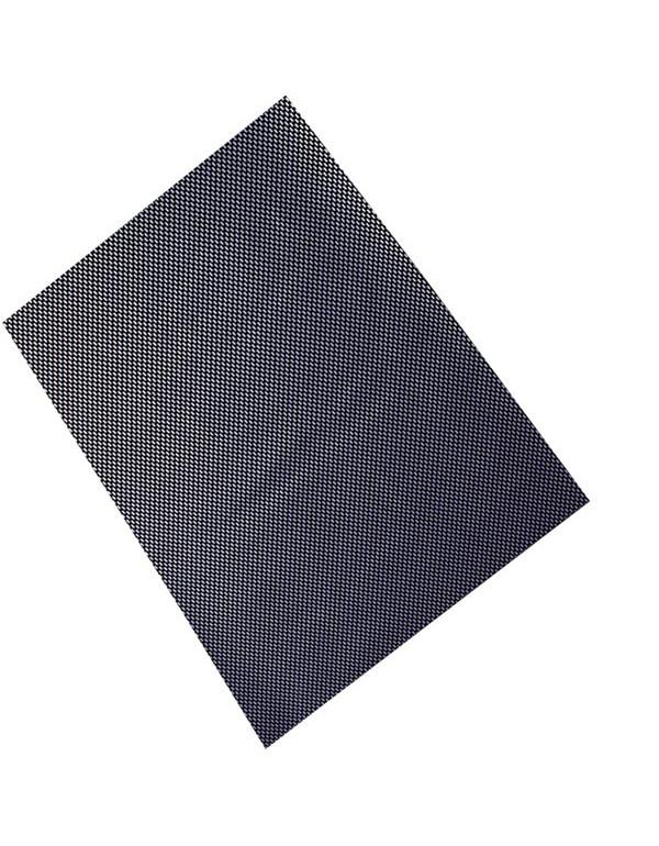 Feuille adhésive stratifiée résine+fibre de carbone véritable. finition brillante