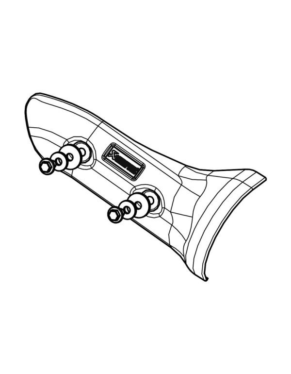 Pare-chaleur Akrapovic P-HSY10R2D/A1