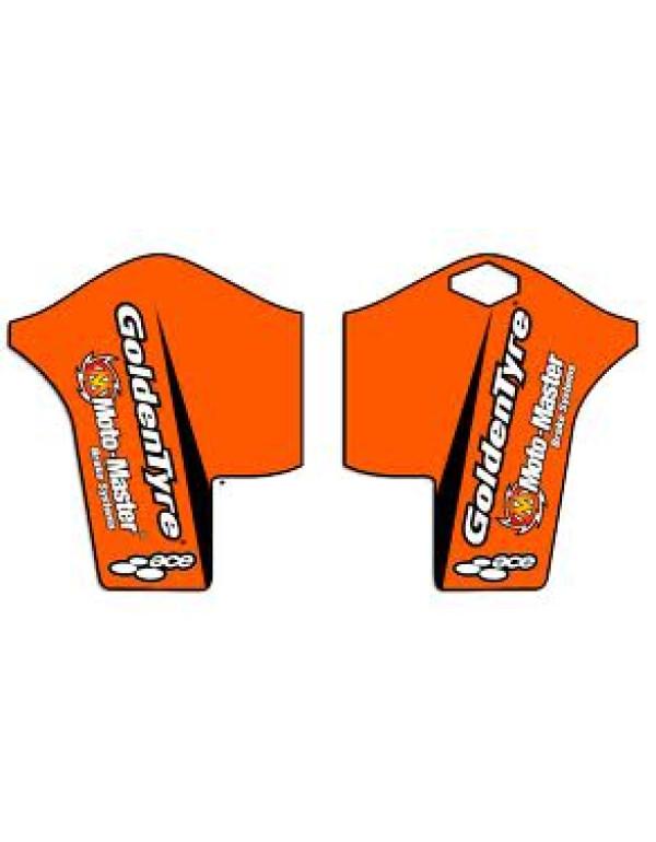 Kit déco protège-fourche KTM EXC / SX 08-09