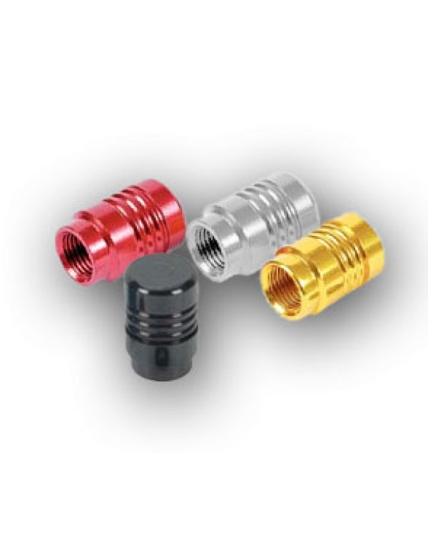 Bouchon de valve alu anodisé (la paire) - OR