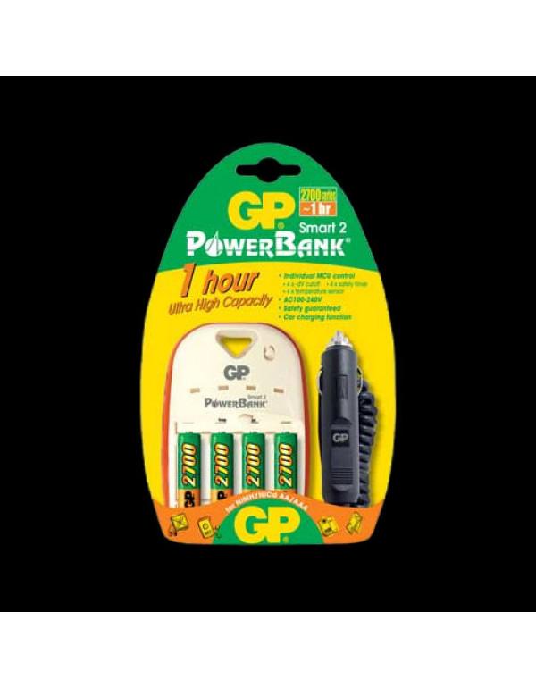 Chargeur NiMH GP Powerbank Smart 2