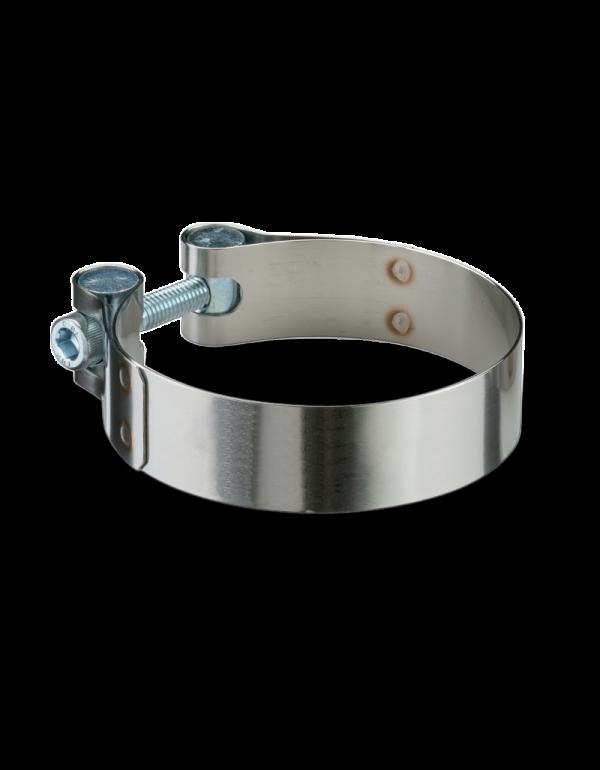 collier d'échappement inox 50 à 53mm