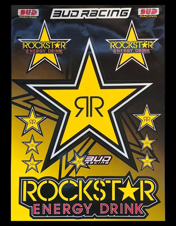 plnahce de stickers Rockstar Energy - budracing