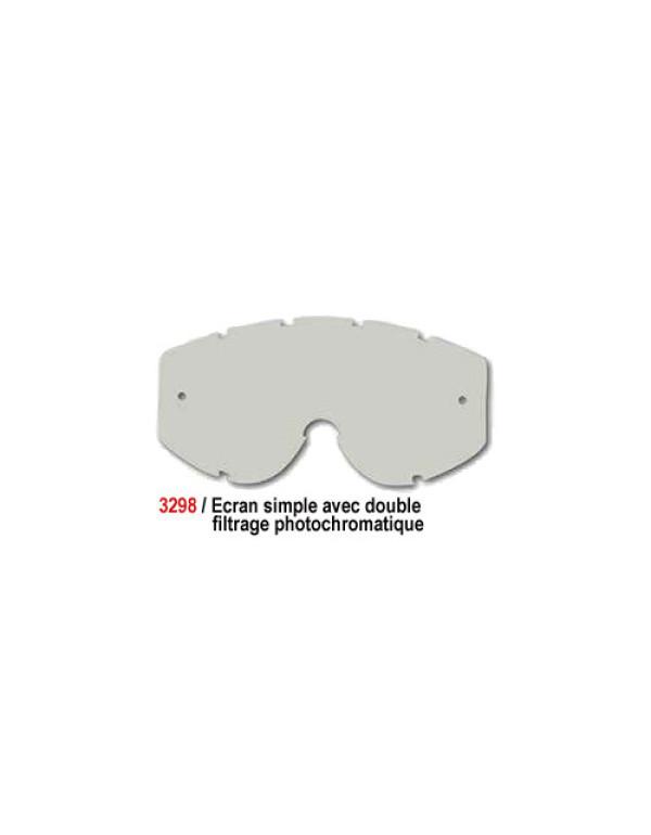Ecran simple - Double filtrage photochromatique