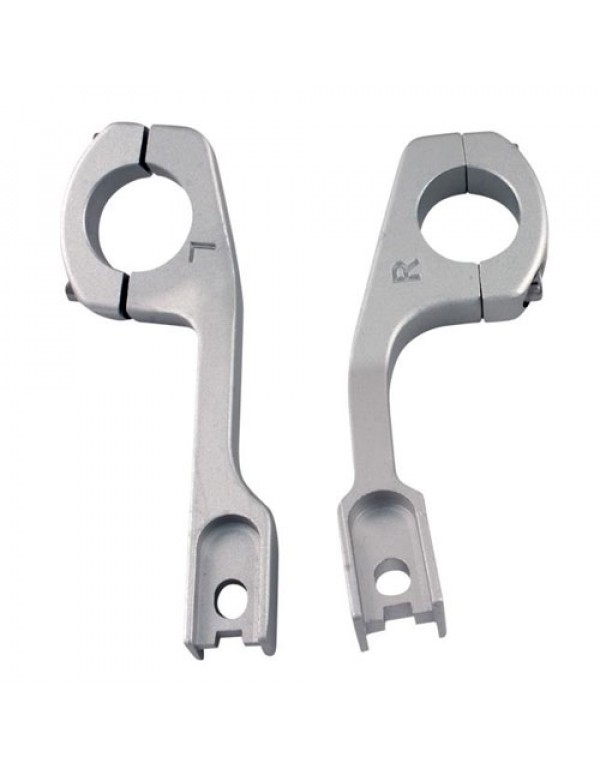 Fixations de rechange Racing ALU pour protège-mains Uniko ventilés
