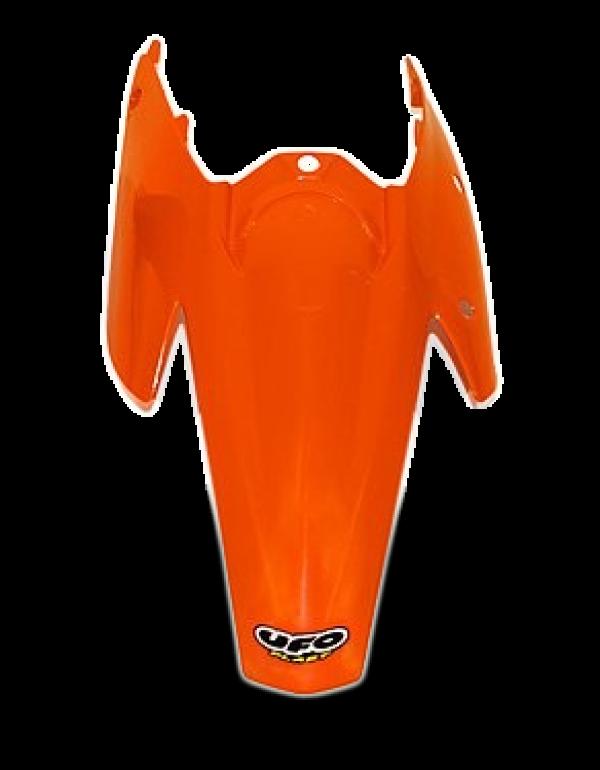 Garde-boue arrière KTM SX (Coque GB+plaques) - Orange