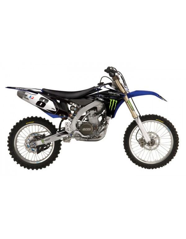 Kit déco ouies et réservoir pour Yamaha 450 YZF 2010