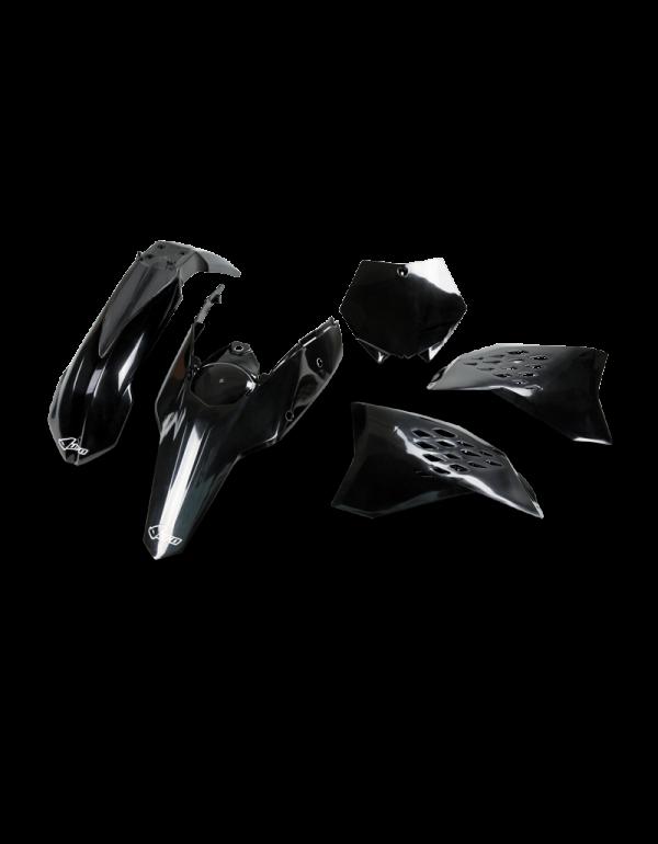 Kit plastique KTM SX 2/4 temps 07-08 - Noir