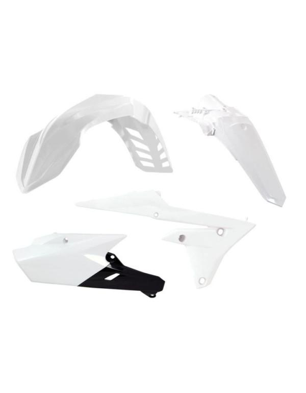 Kit plastique blanc pour Yamaha YZF 250 2012
