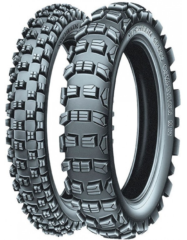 Pneu Michelin Cross Competition  M12XC 120 / 90 - 18