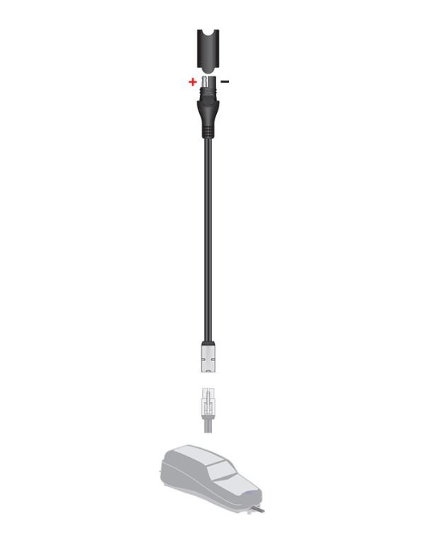 Accessoires pour chargeurs TECMATE Optimate et Accumate-Adaptateur nouvelle/ancienne connectique O-17