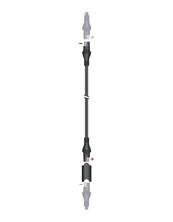 Accessoires pour chargeurs TECMATE Optimate et Accumate-Rallonge de charge SAE (4,6m) étanche O-23