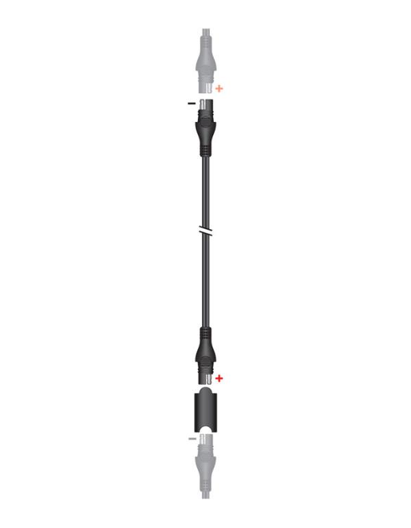 Accessoires pour chargeurs TECMATE Optimate et Accumate-Rallonge 1.8m O-3