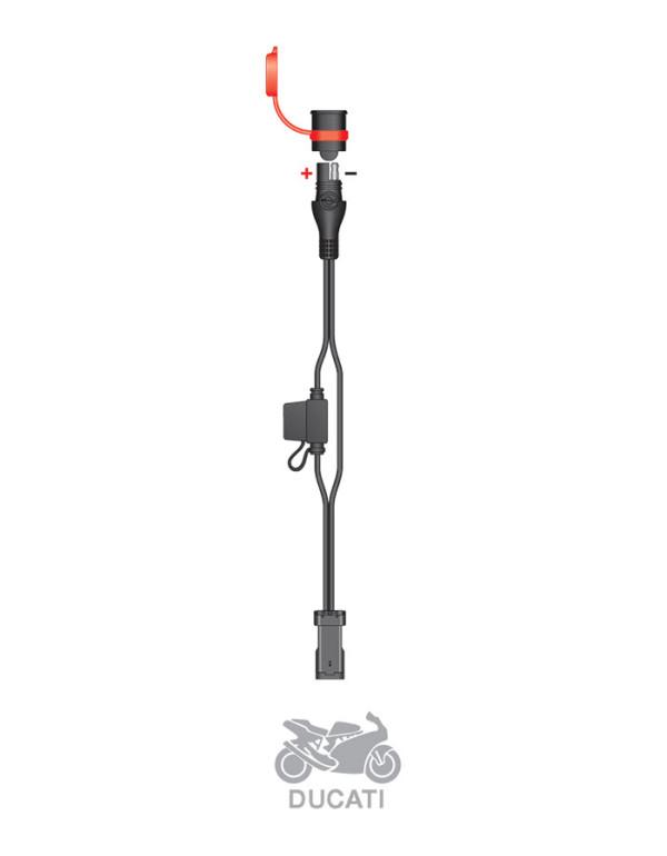 Accessoires pour chargeurs TECMATE Optimate et Accumate-Adaptateur Ducati O-47