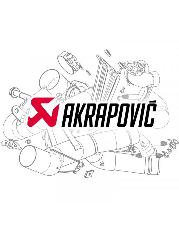 Pièce de rechange Akrapovic M-TCDE6/35/1
