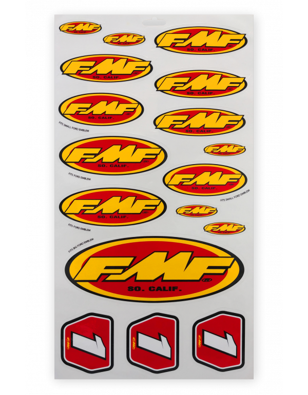 Planche stickers FMF