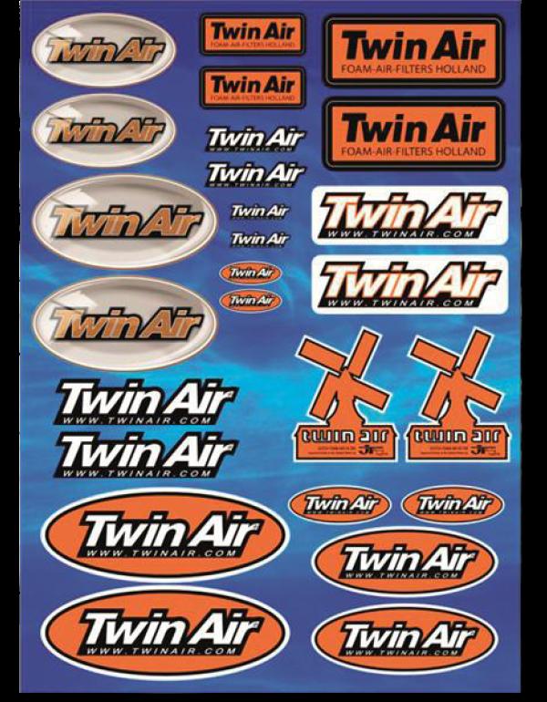 Planche de stickers TWIN AIR