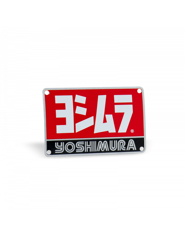 Plaque pour pot Yoshimura TRC AC107W