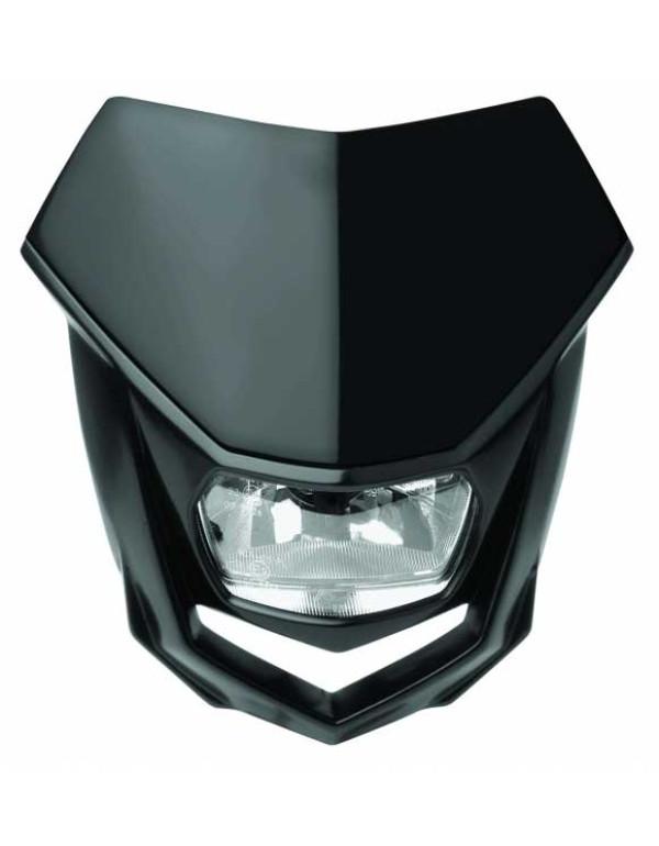 Plaque phare Polisport Halo-Noire