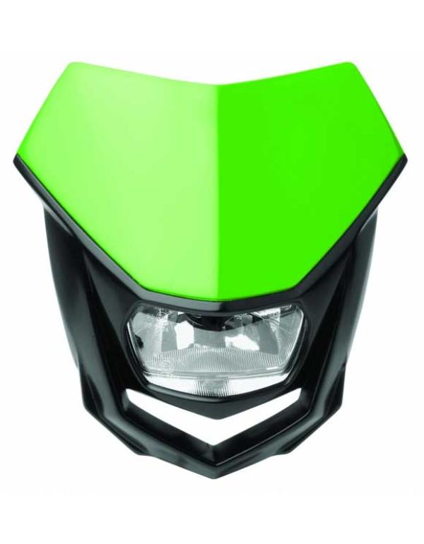 Plaque phare Polisport Halo-Vert / Noir