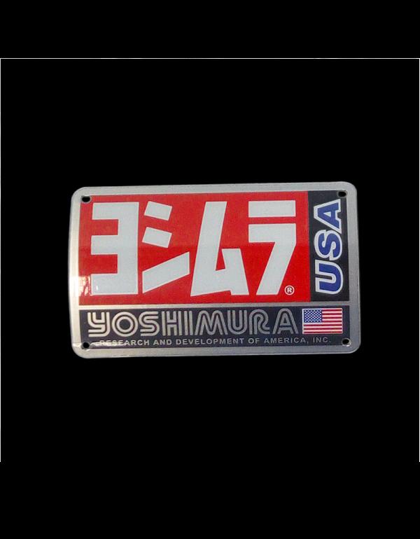 Plaque pour pot Yoshimura RS3 AC106W-RS3