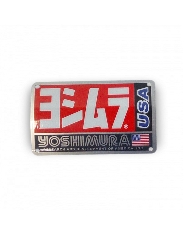 Plaque pour pot Yoshimura RS3 AC106W-TRS