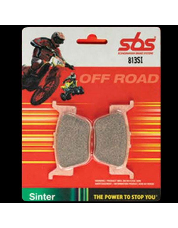 Plaquettes de frein avant OFF ROAD frittées