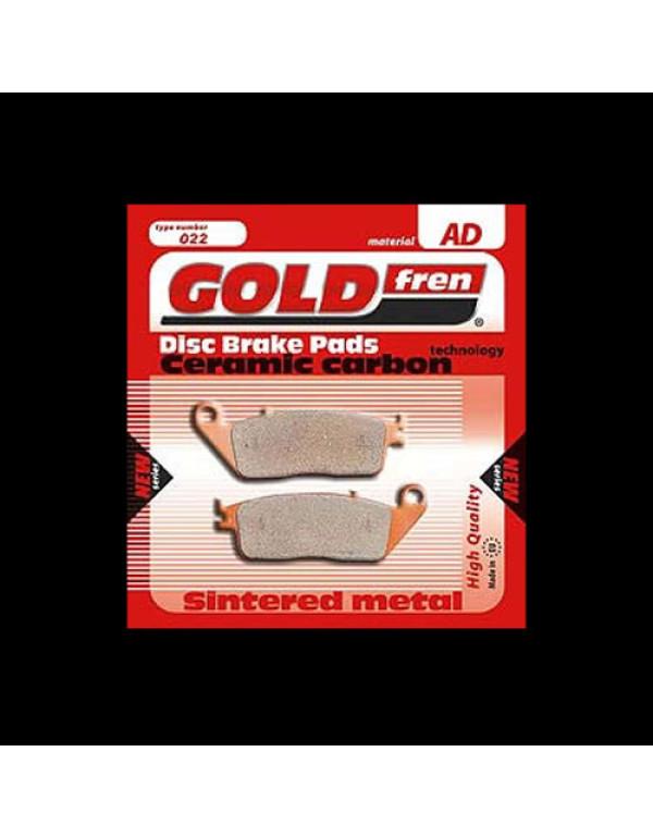 Plaquettes de frein Gold Fren pour HONDA