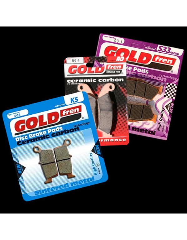 Plaquettes de frein Gold Fren pour KAWASAKI