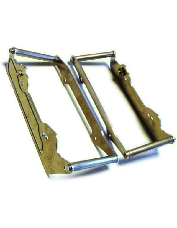 Protections de radiateur pour KTM 4TPS 400/450/500/525 2001-2007