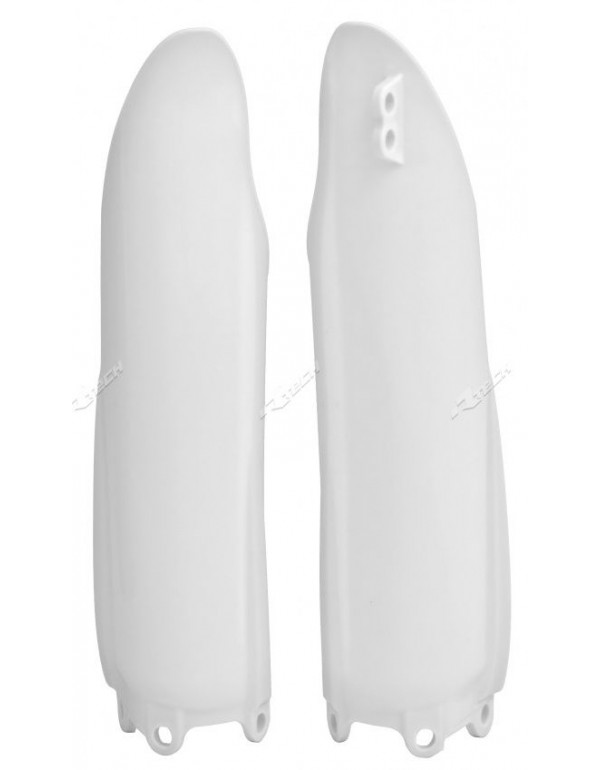 Protections De Fourche Blanches Pour Yamha Yz125 2008-2014