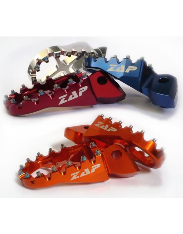 Repose-pieds SUZUKI RMZ 450 2008 et RMZ 250 2010 en Alu anodisé rouge X-PEG