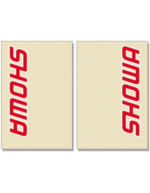 sticker protège fourche SHOWA