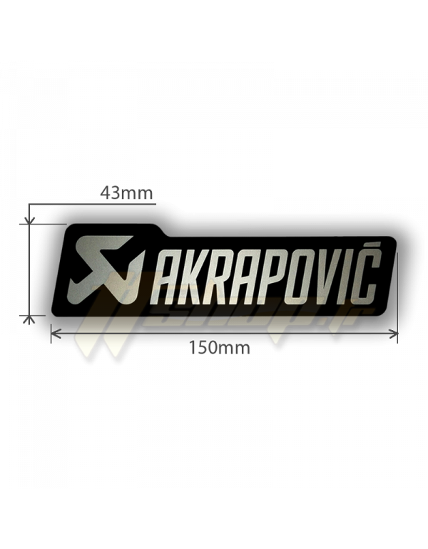 Sticker Akrapovic P-HST18ALXM4