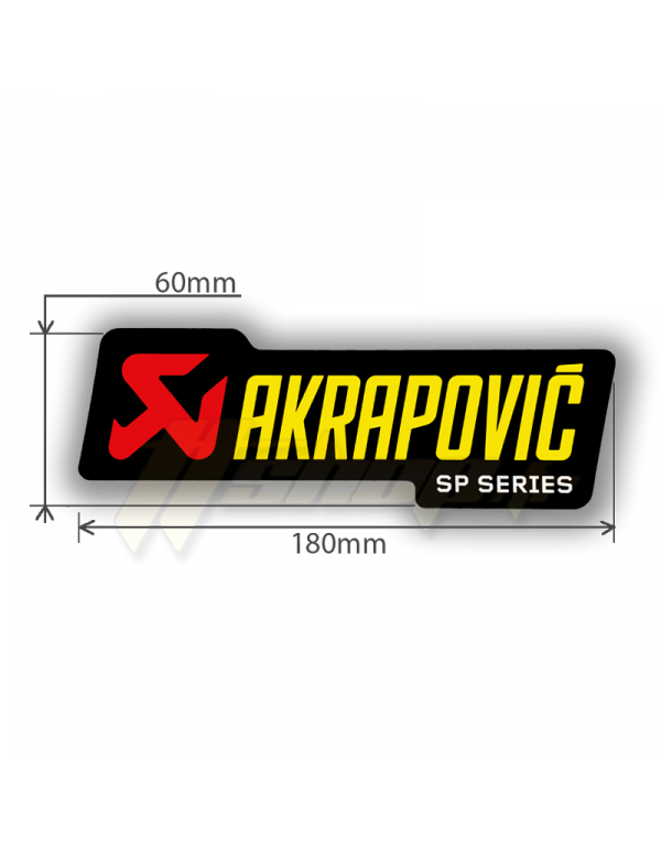 Sticker Akrapovic P-HST1ALSP