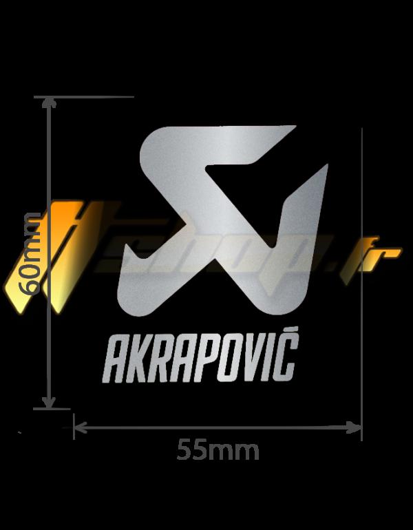 Sticker Akrapovic P-VST18AL