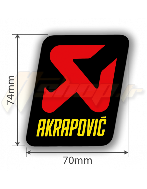 Sticker Akrapovic P-vST2AL