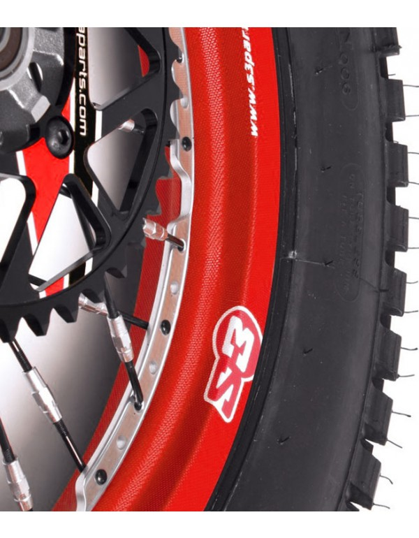 Stickers de roue S3 rouge