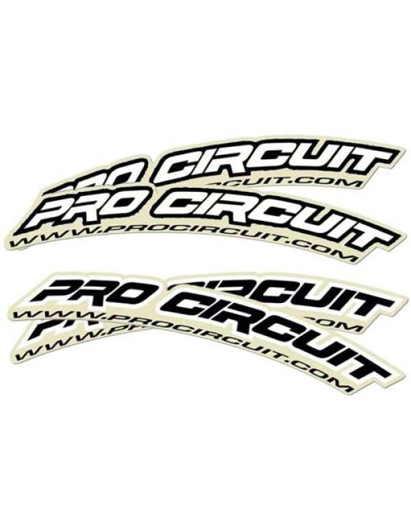 Sticker de garde-boue avant Pro Circuit