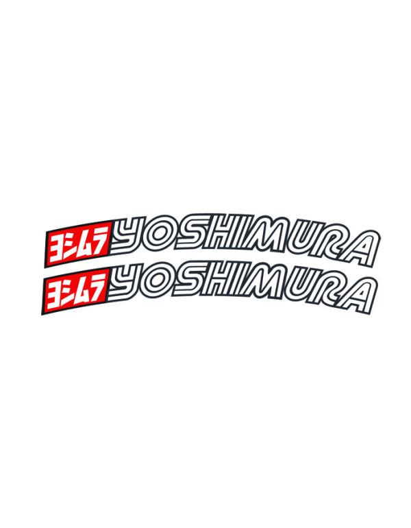 Stickers de garde-boue Yoshimura (la paire)