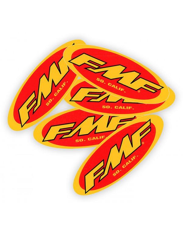 Sticker officiel échappement FMF