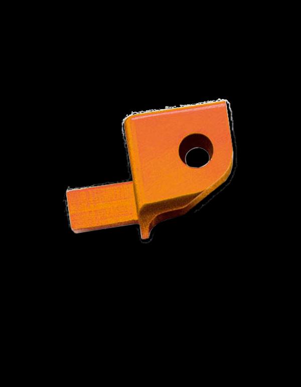 Embout de sélecteur - décalage -10mm Orange