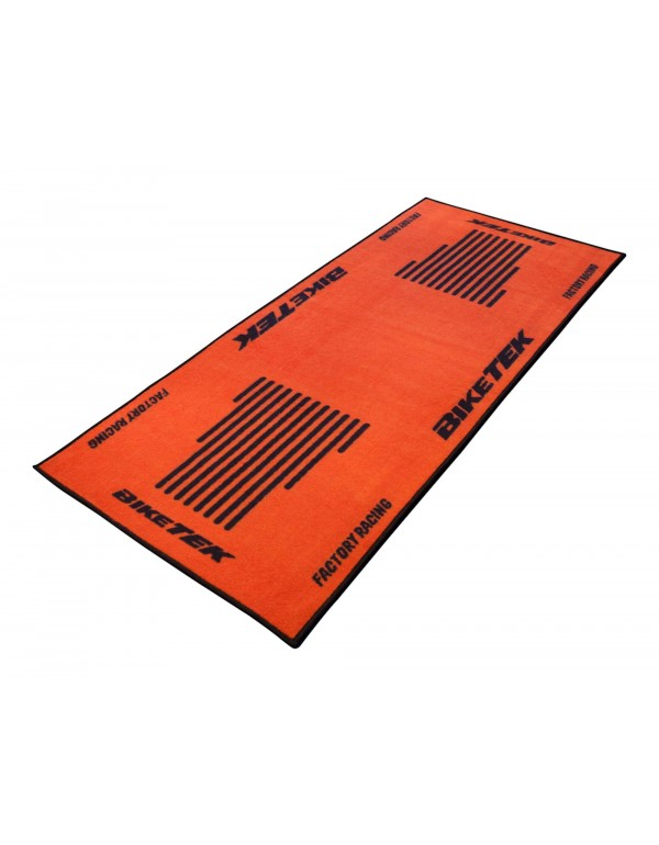 Tapis de sol moto orange KTM