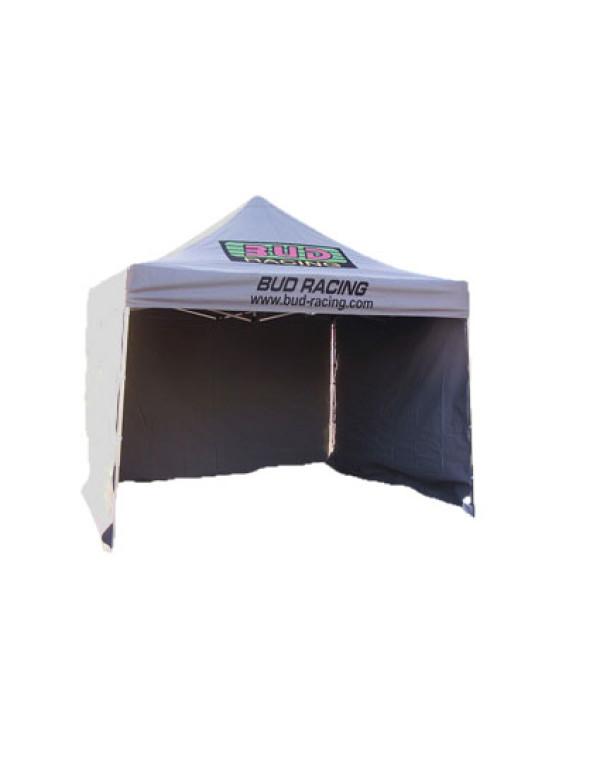 bâche latérale pour tente noire