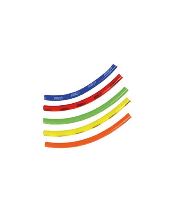 Tuyau coloré pour bouchon de réservoir - 40cm - jaune