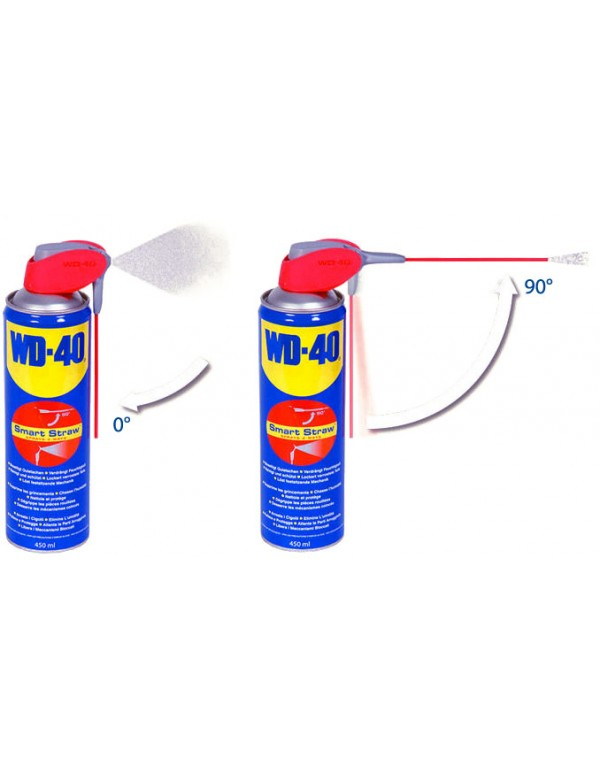 WD40 spray 500ml double position
