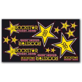 Planche de stickers ROCKSTAR TEAM vinyl épais
